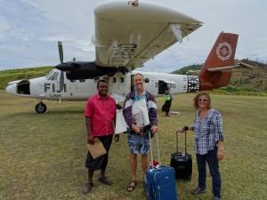 arriving in Vanua Balavu