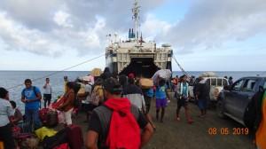 Goundar shipping Lomaiviti Princess ferry arrival